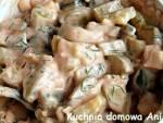 Surówka z kiszonych ogórków