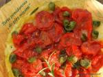 """Tarta pomidorowa """"do góry nogami"""""""