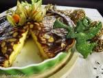 Tarta z mascarpone z migdałami