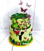 Wiosenny tort urodzinowy