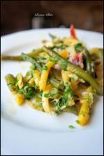 Zapiekanka z fasolki szparagowej