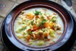 Zupa jarzynowa z łazankami