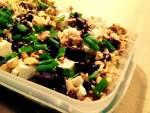 Sałatka z kaszą gryczaną, fetą, pieczonym burakiem, awokado oraz orzechami włoskimi czyli nowy cykl- Lunch Box