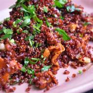 Komosa ryżowa z kurkami w 15 minut