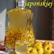 Nalewka z pigwy japońskiej