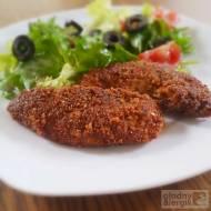 Polędwiczki z kurczaka w orientalnej sezamowej panierce (bez bułki, glutenu, mleka i jajek)