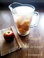 Kompot z jabłek na 3 sposoby