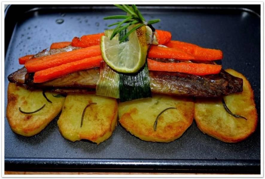 Wędzona makrela spod grilla