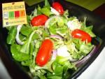 Sałatka z Roszponka i Mozzarella