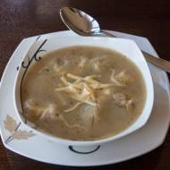 Banalnie prosta francuska zupa cebulowa z grzankami home-made i serem! MMNIIIAAAMM!!!!