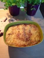Lasagne pomidorowa z mięsem mielonym