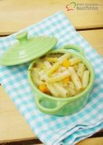 Zupa z żółtą fasolką szparagową