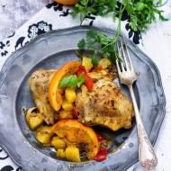 Hiszpański kurczak w pomarańczach