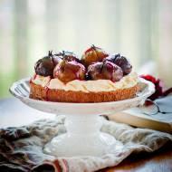 Torcik czekoladowo – figowy.