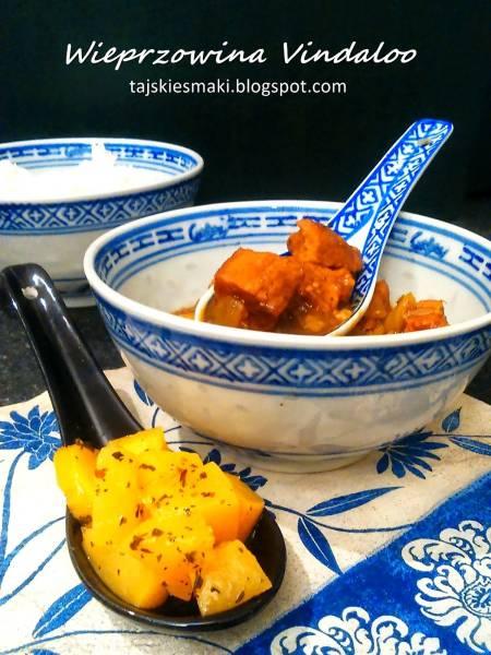 Smaki Indii: Wieprzowina Vindaloo