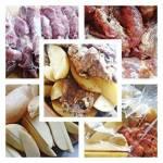 Domowy obiad- karkówka pieczona z ziemniakami