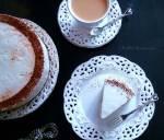 Sernik na Zimno Cappuccino z Ptasim Mleczkiem