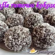 Trufle rumowo – kokosowe