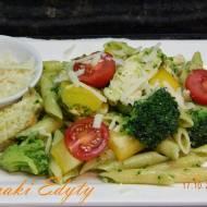 Kurczak z brokułami i pesto