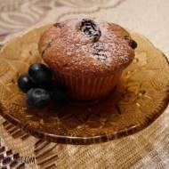 Maślane muffinki z borówkami