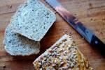 Chleb pszenno - żytni ze słonecznikiem
