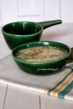 Kluski lane z mąki gryczanej