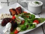 Mini kebaby z tymiankiem i sosem chili (grillowane)
