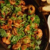 Krewetki w gorącej oliwie z chilli