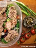 Sałatka z polędwiczką wieprzową – lunch do pracy