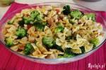 Makaronowa zapiekanka z kurczakiem i warzywami