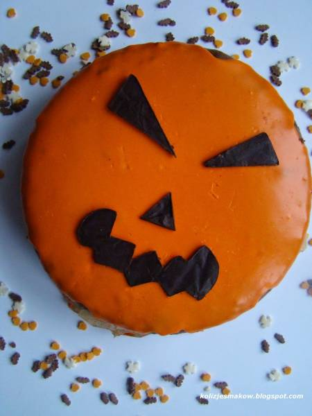 Brownie KitKat na Halloween