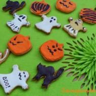 Halloweenowe ciasteczka