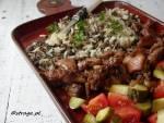 Kurczak grillowany z ryżem (słodko-kwaśny)