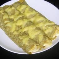 Naleśniki gryczane z musem mango - banan
