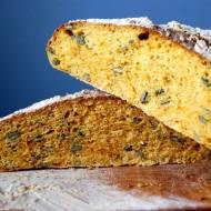 Chleb pszenny z dynią na zakwasie