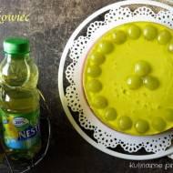 Galaretkowiec, kolorowy deser z winogronami