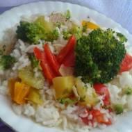 Brokułowe risotto