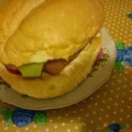 Rybny burger, czyli