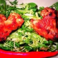 Kurczak w kilku smakach z sałatką yuzu