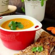 Zupa marchwiowa z kolendrą ( krem marchewkowy )