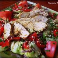 Lunch'owa sałatka ;)