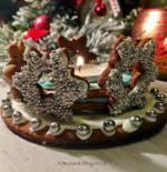 Pierniki z przyprawą garam masala i świeczniki z piernika