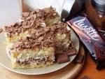Ciasto z kremem wafelkowym