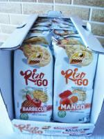 GoodFood  Testowanie nowych smaków wafelków ryżowych o smaku mango i barbecue.