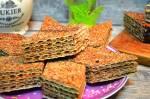 Pyszne wafelki z masą kakaową -przekładane andruty