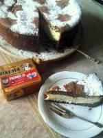 Sernik kokosowy na czekoladowym spodzie