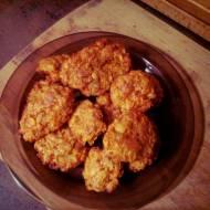 Kotlety z marchewki i kukurydzy (pieczone) - ok. 420 kcal