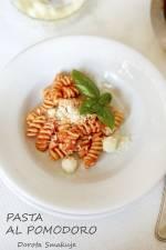 Makaron w sosie pomidorowym – włoski przepis