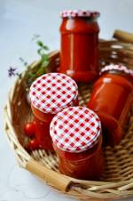 Sos pomidorowy na zimę