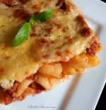 Zapiekanka Makaronowa z Mięsem Mielonym w Sosie Pomidorowym